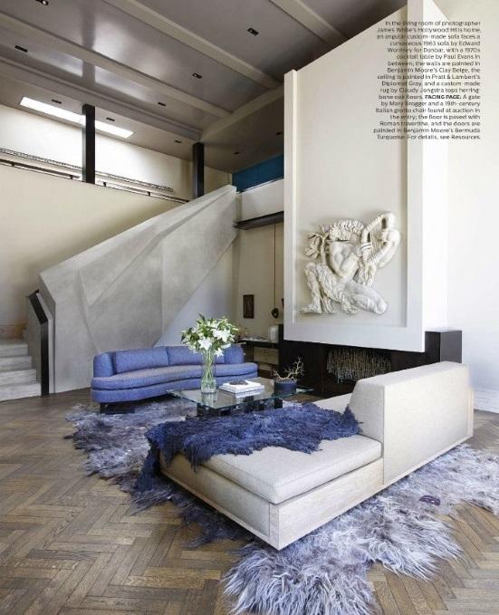Elle Decor Blog: Elle Decor September 2015: 6 Best Rooms With Decorative Rugs