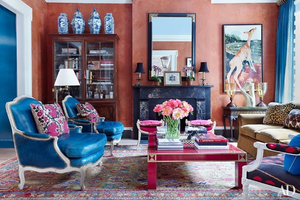 Architectural Digest August 2015 9 Best Rooms With Decorative Rugs