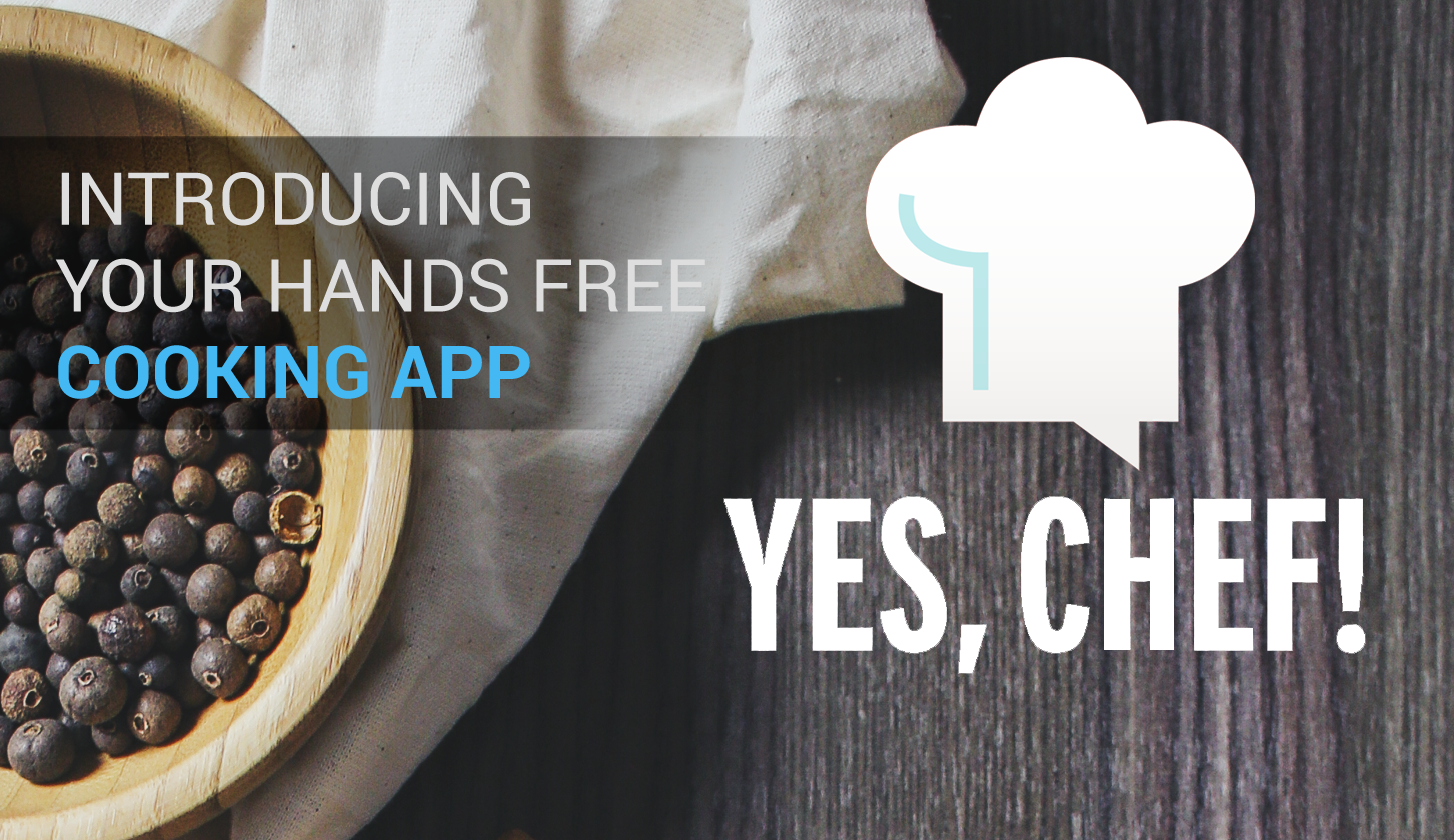 Introducing your hands free cooking app
