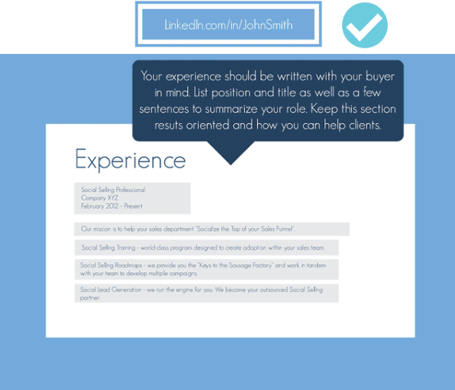 How to Revamp Your LinkedIn Profile to Sell More Infographic 3