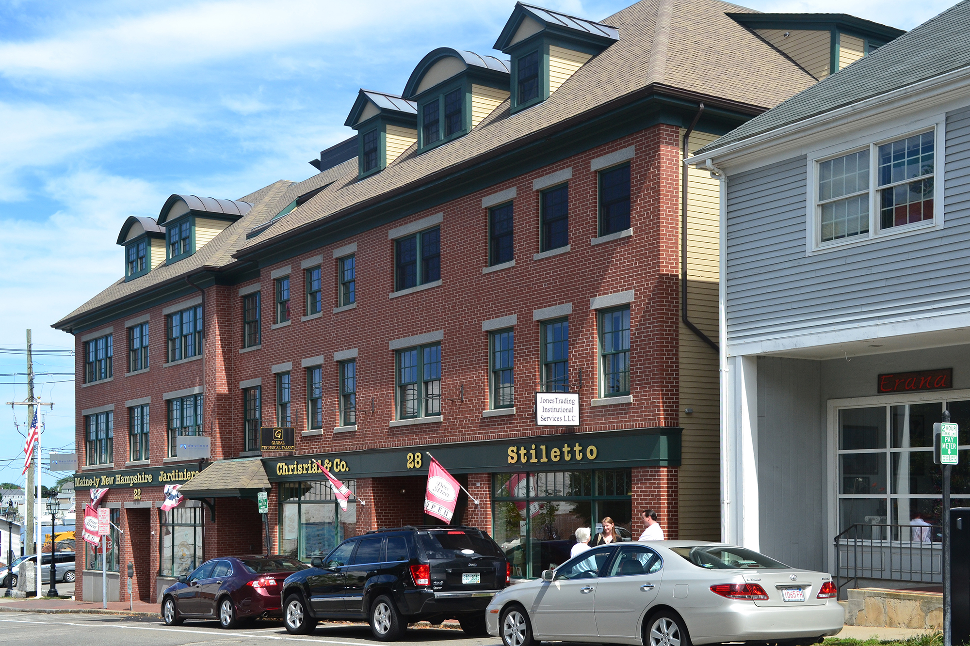 Deer Street Mixed-use Urban Infill Portsmouth NH