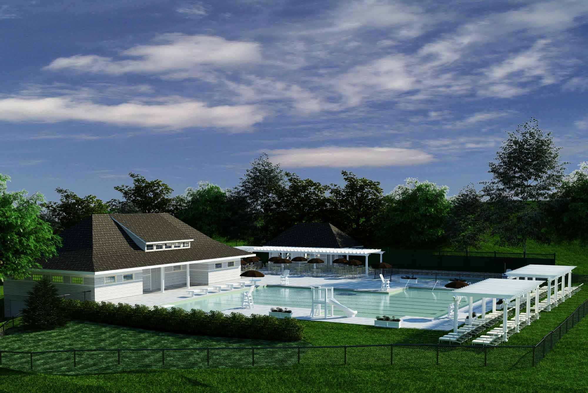 Country Club Design Brae Burn Pool