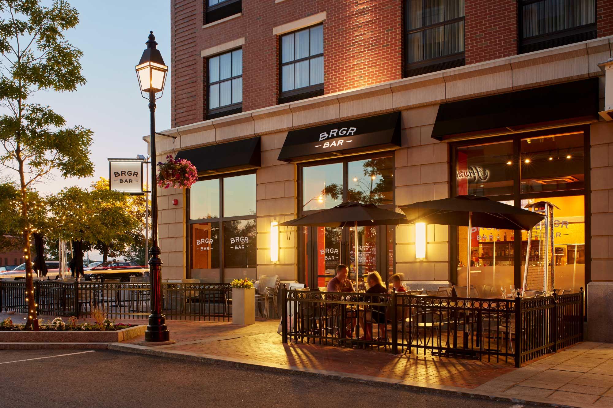 Portwalk Mixed Use Design Burger Bar