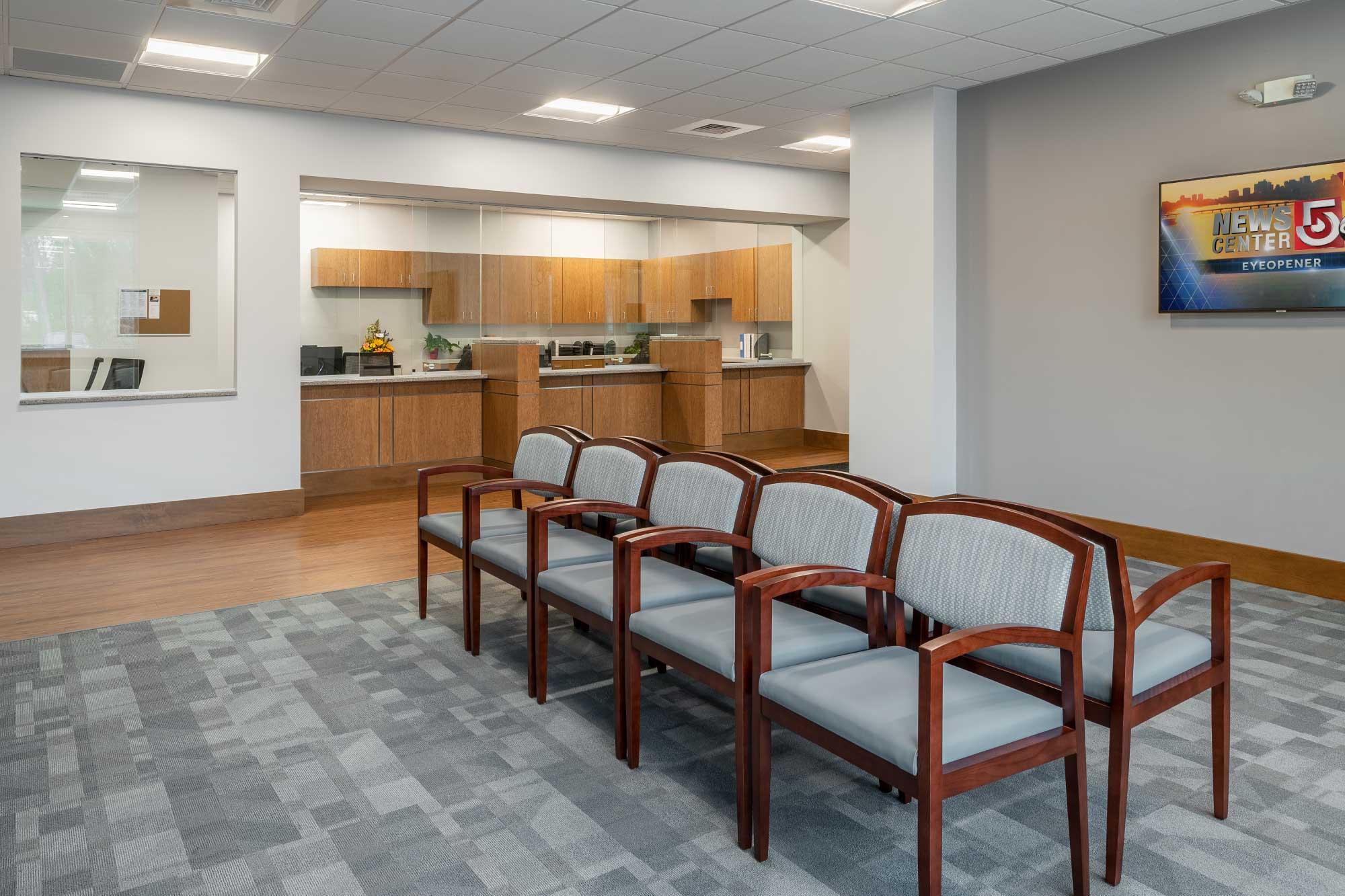 Circle Heath Tewksbury Satellite Facility Design_Waiting Room