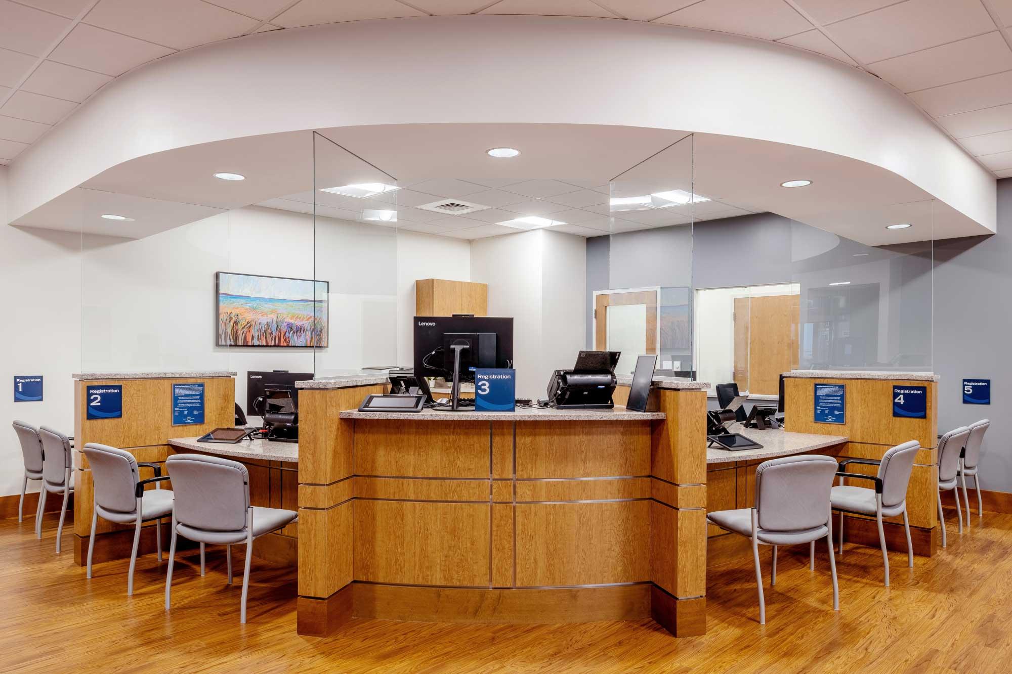 Circle Heath Tewksbury Satellite Facility Design_Reception