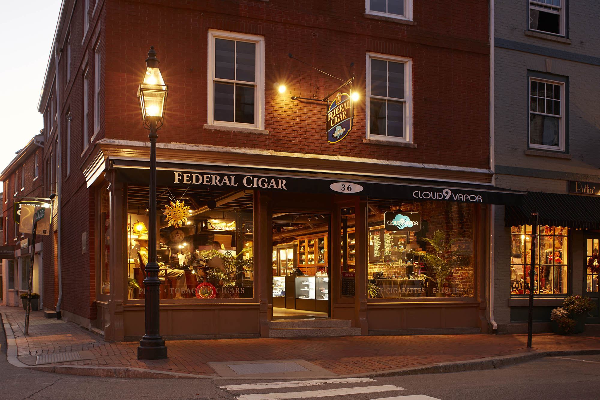 Federal Cigar Portsmouth Design