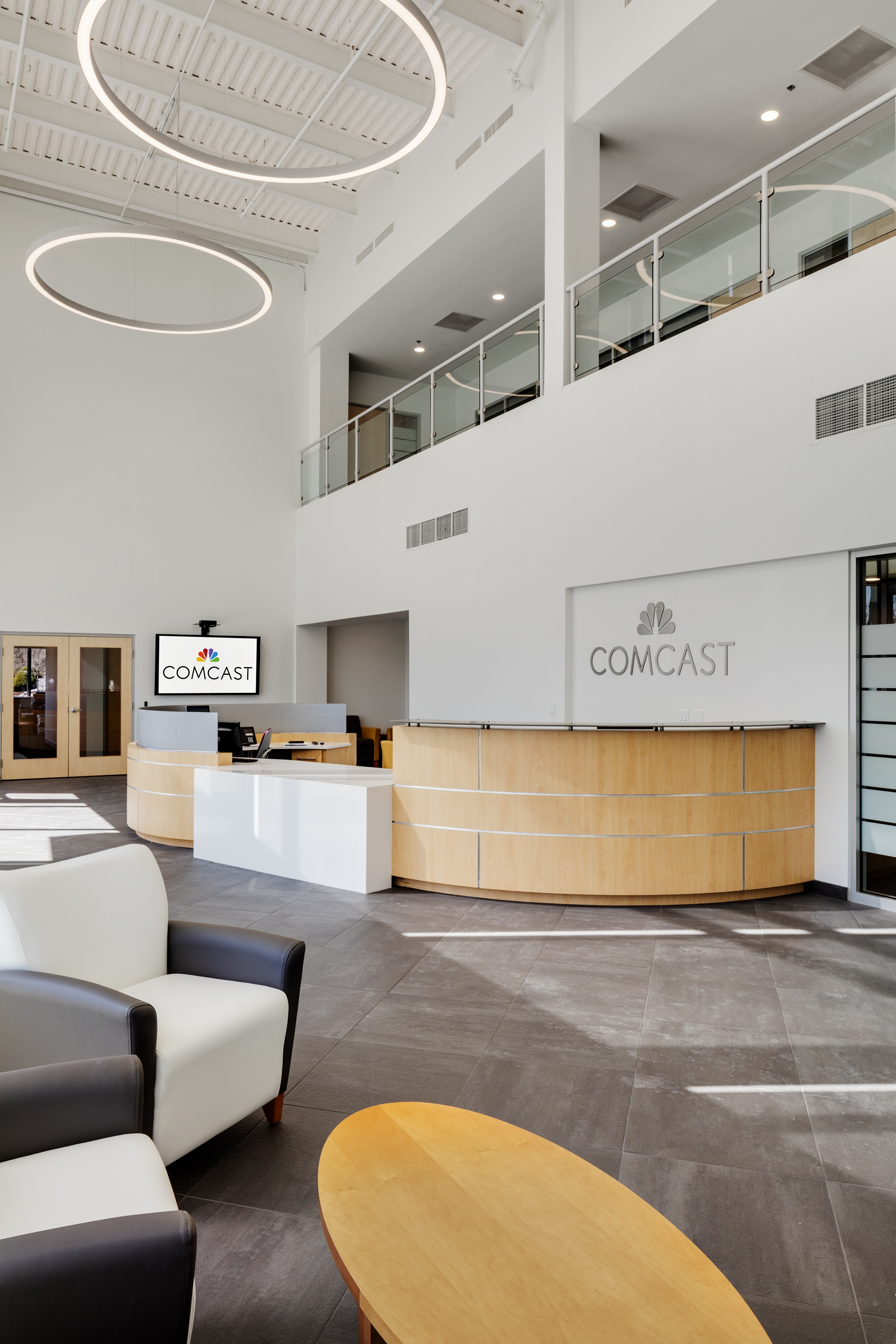 Comcast Lobby Renovation