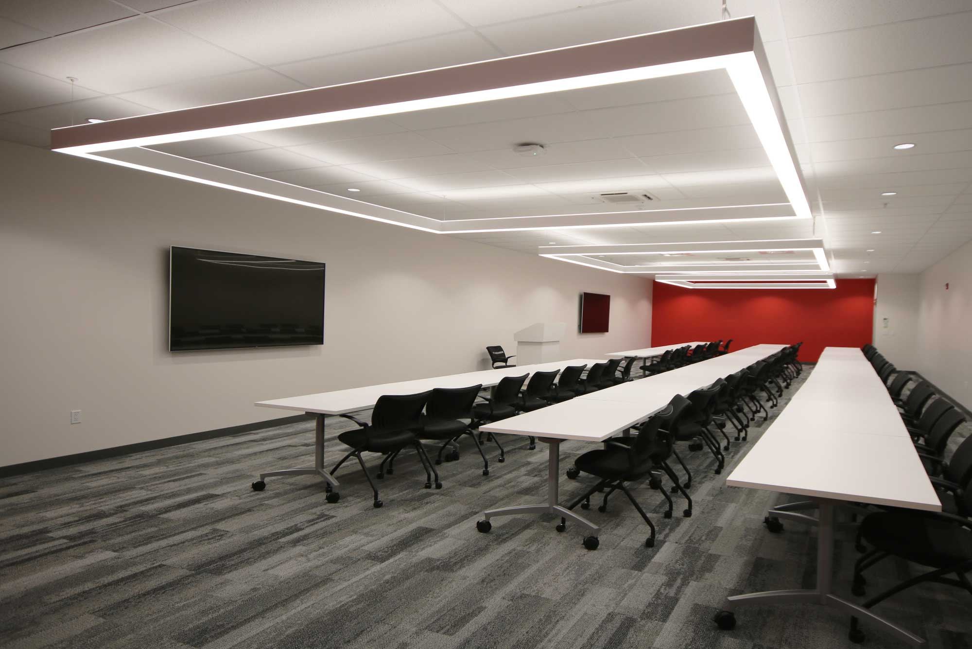 Comcast training Rooms