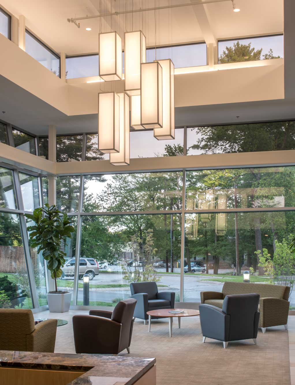 Foliage Software Lobby Design