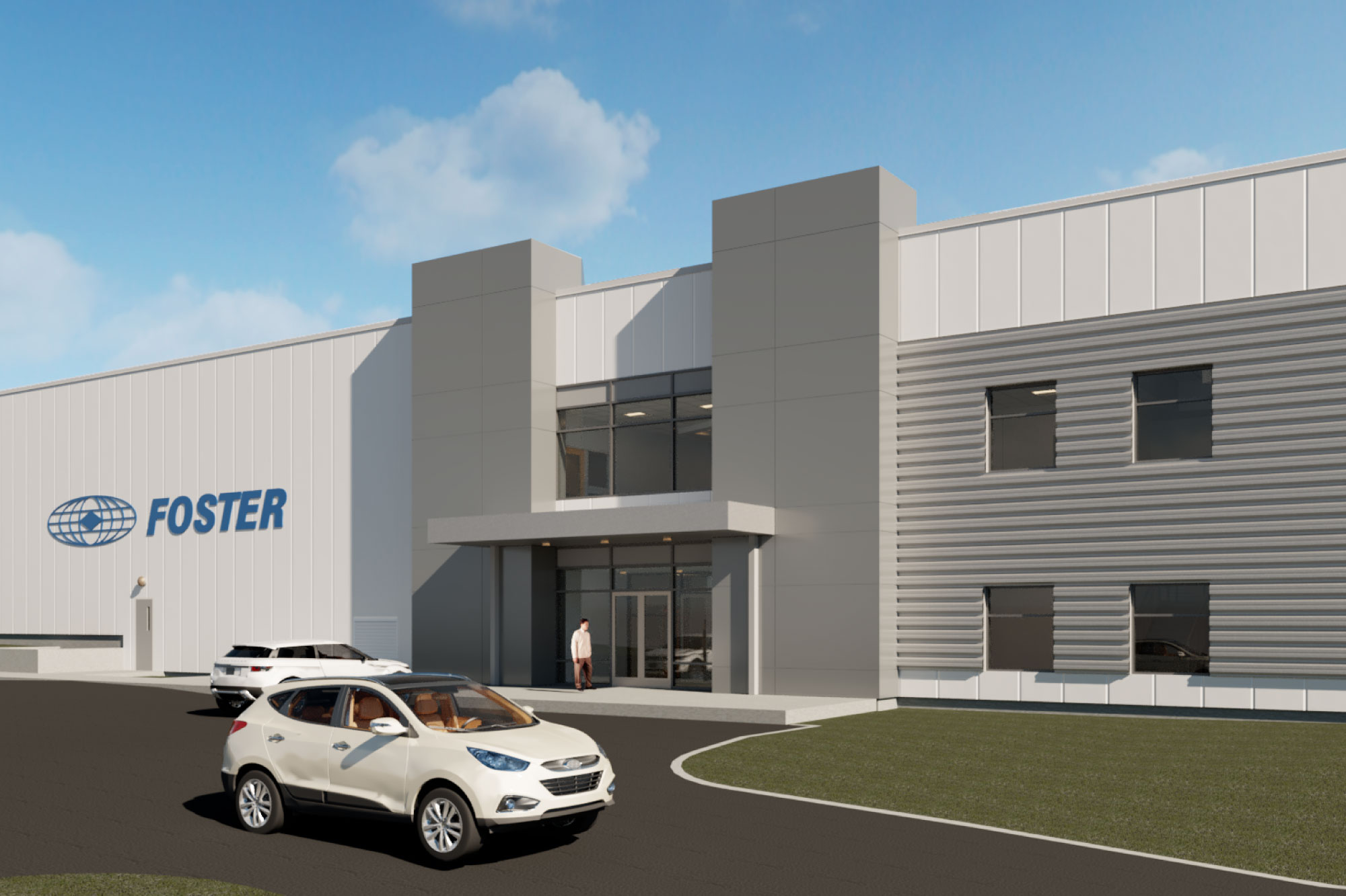 Foster Corporation Industrial Building Design