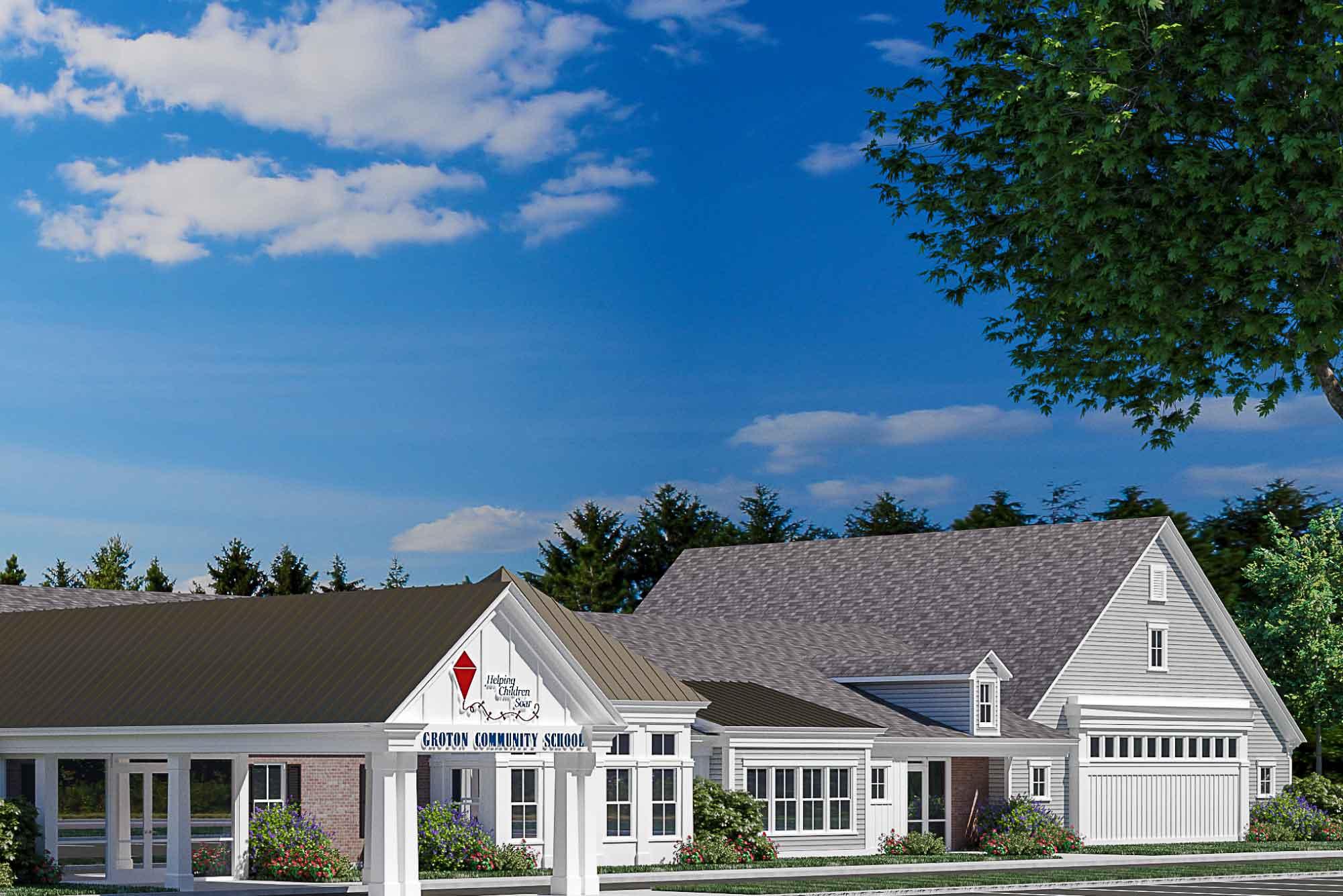 School Building Design Groton Community School