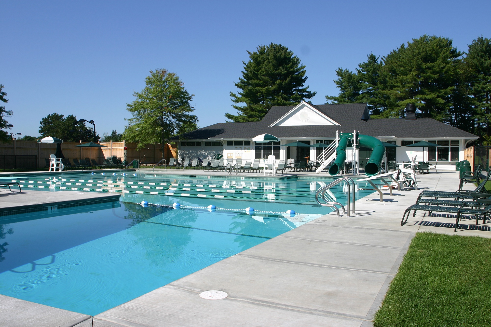Pool Design Concord Country Club