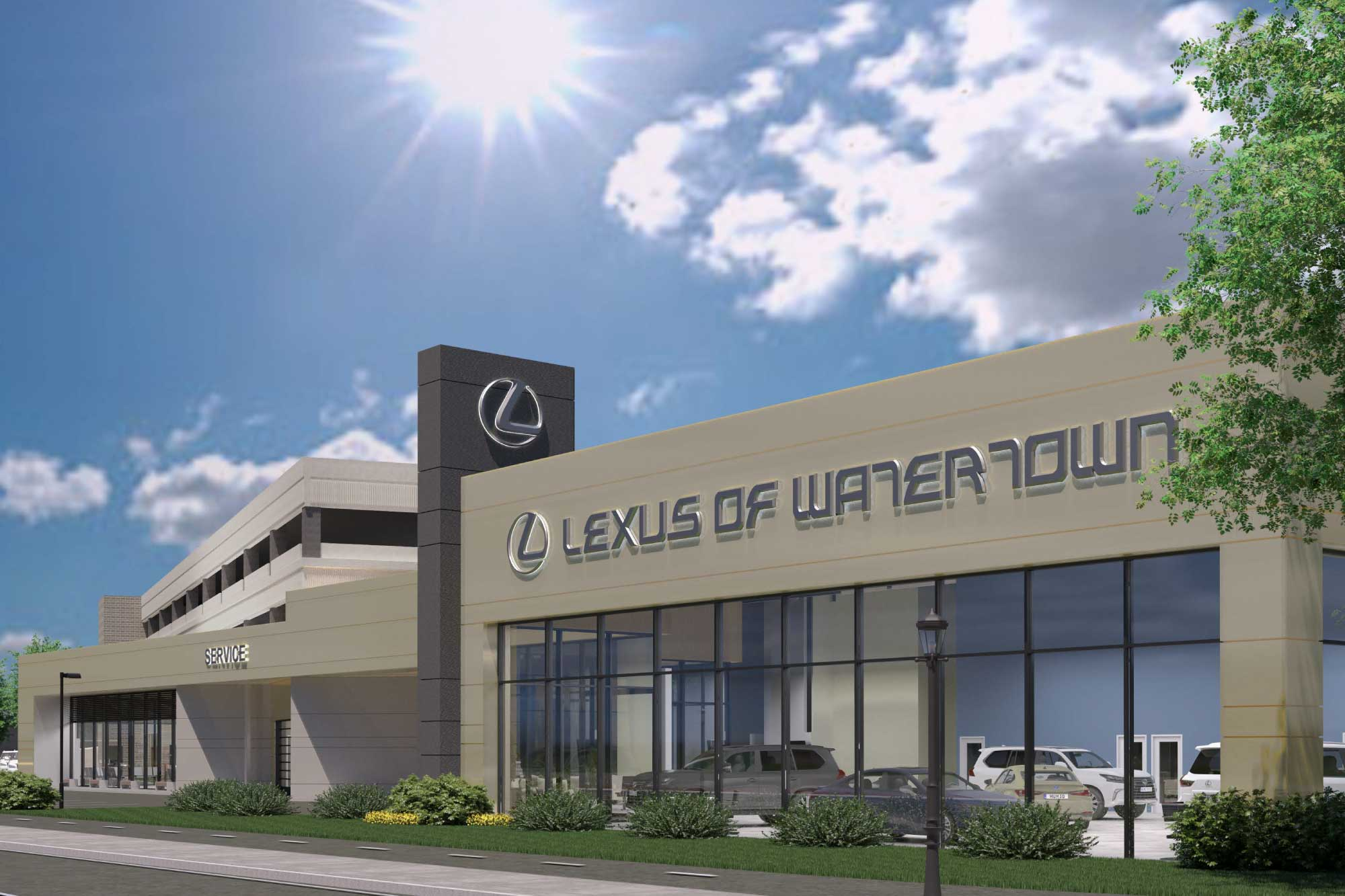 Lexus-of-Watertown Maugel Architects