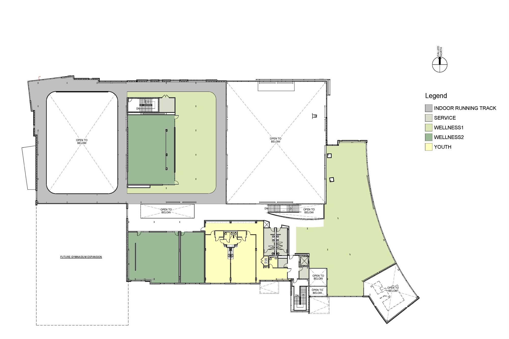 Lynn-YMCA-Second Level Floor Plan