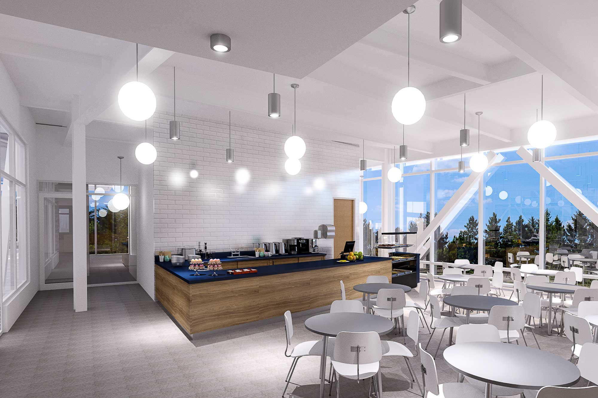 Lynn YMCA Cafe Design
