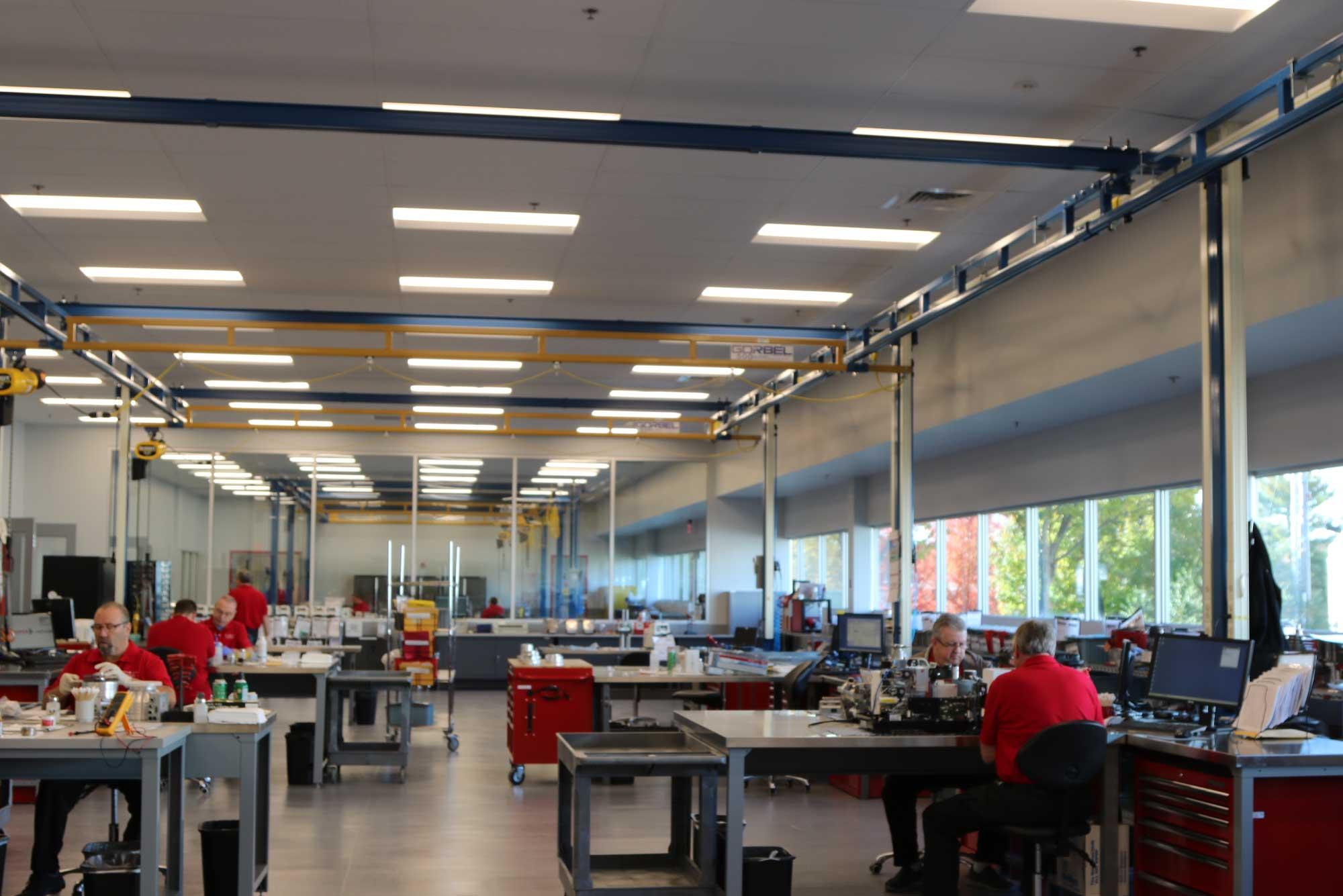 Pfeiffer Vacuum Industrial Architecture