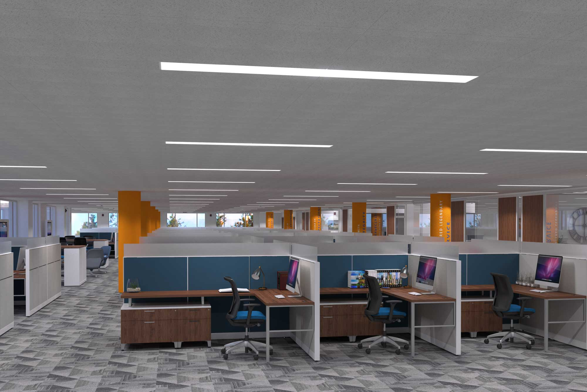Workers Credit Union Workspace Design