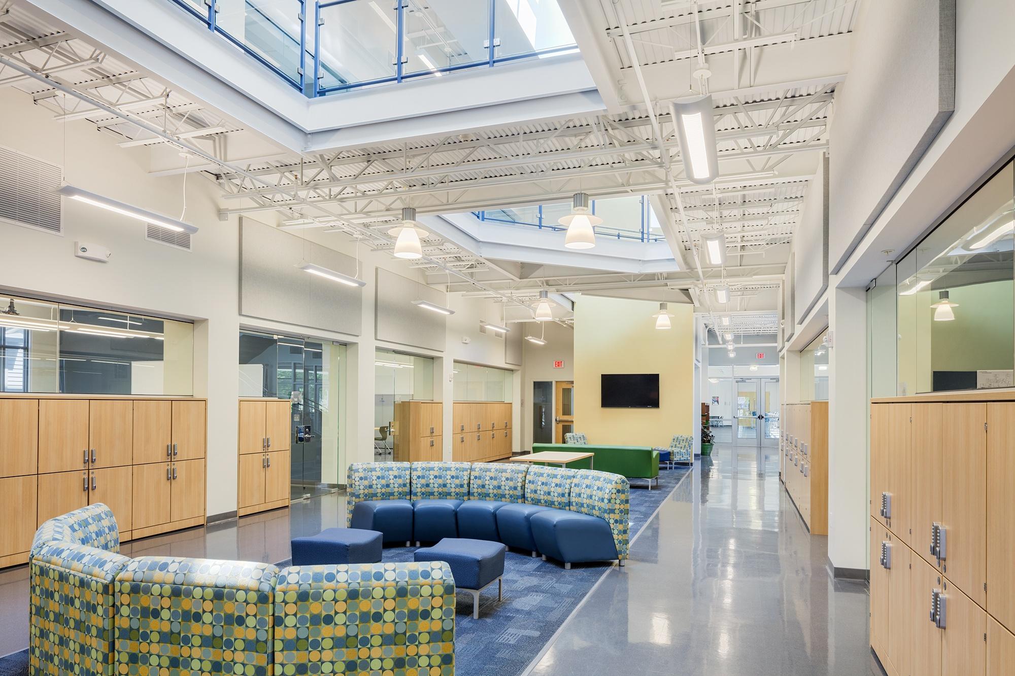 World-Academy School Interior Design