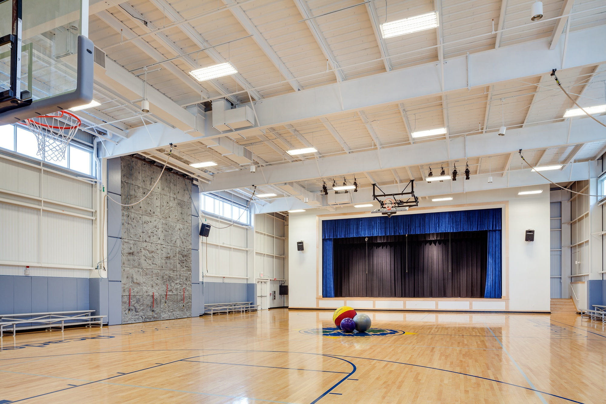 World Academy Gymnasium Design