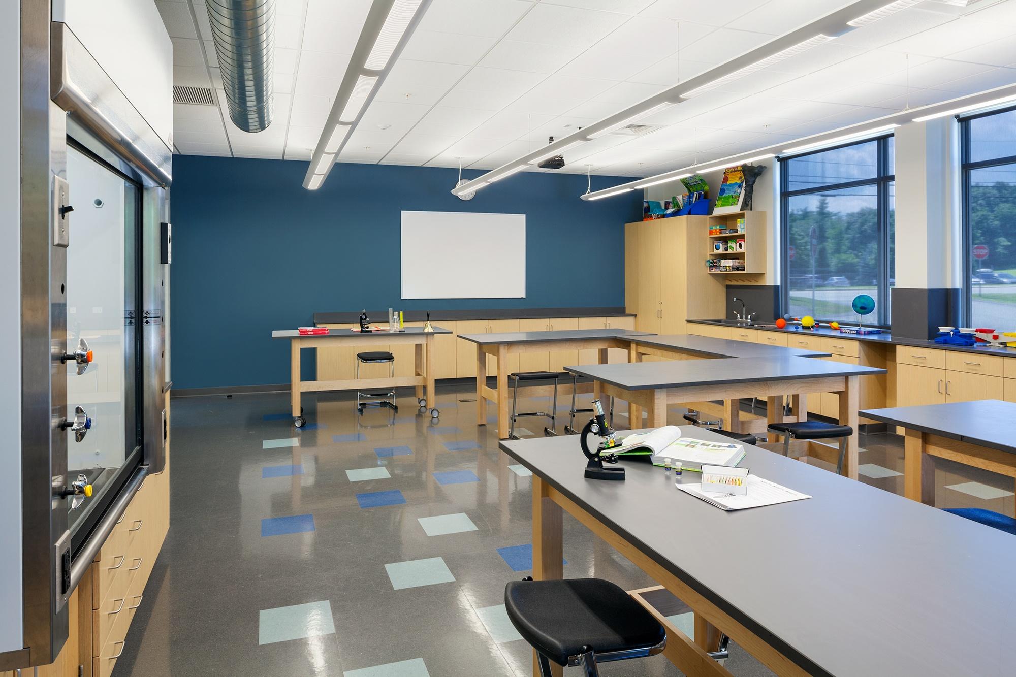 World Academy Science Classroom Design