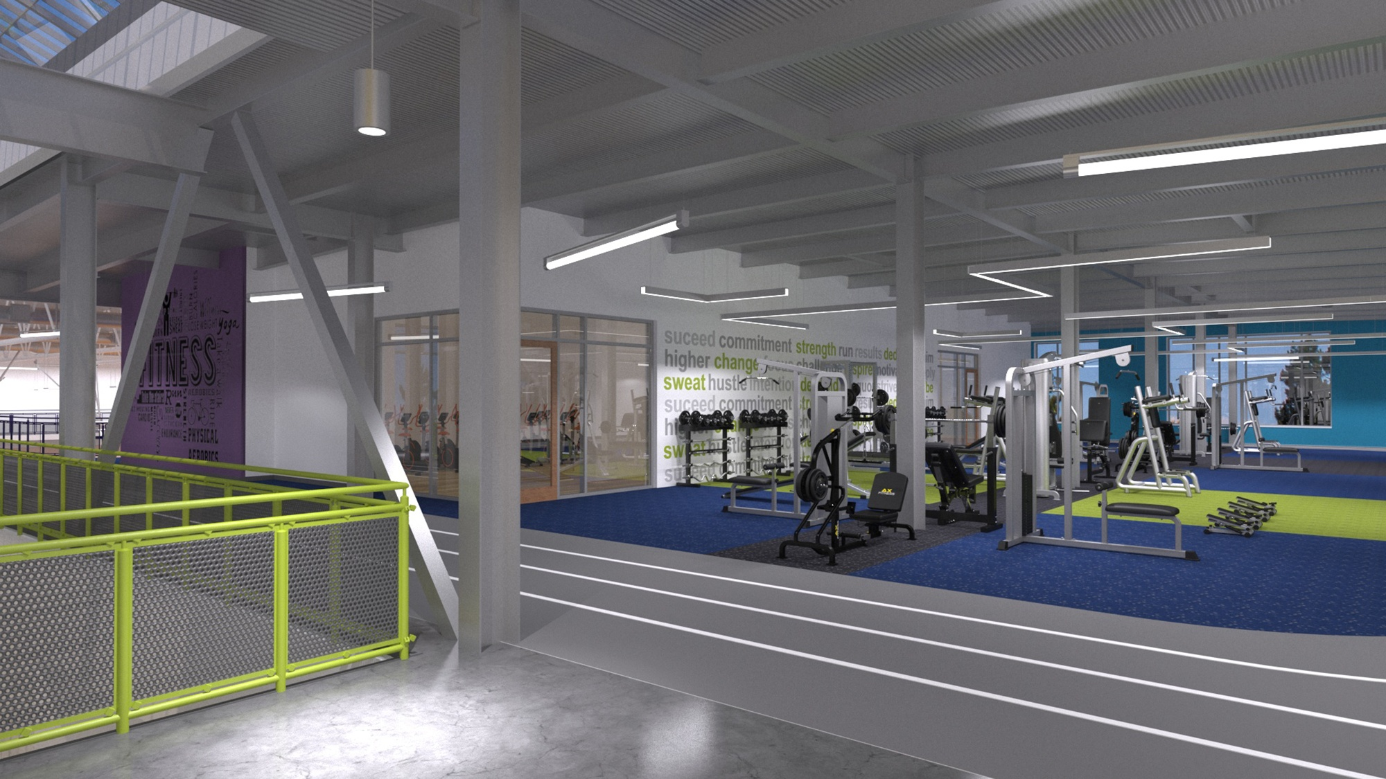 Lynn YMCA Fitness Center Design