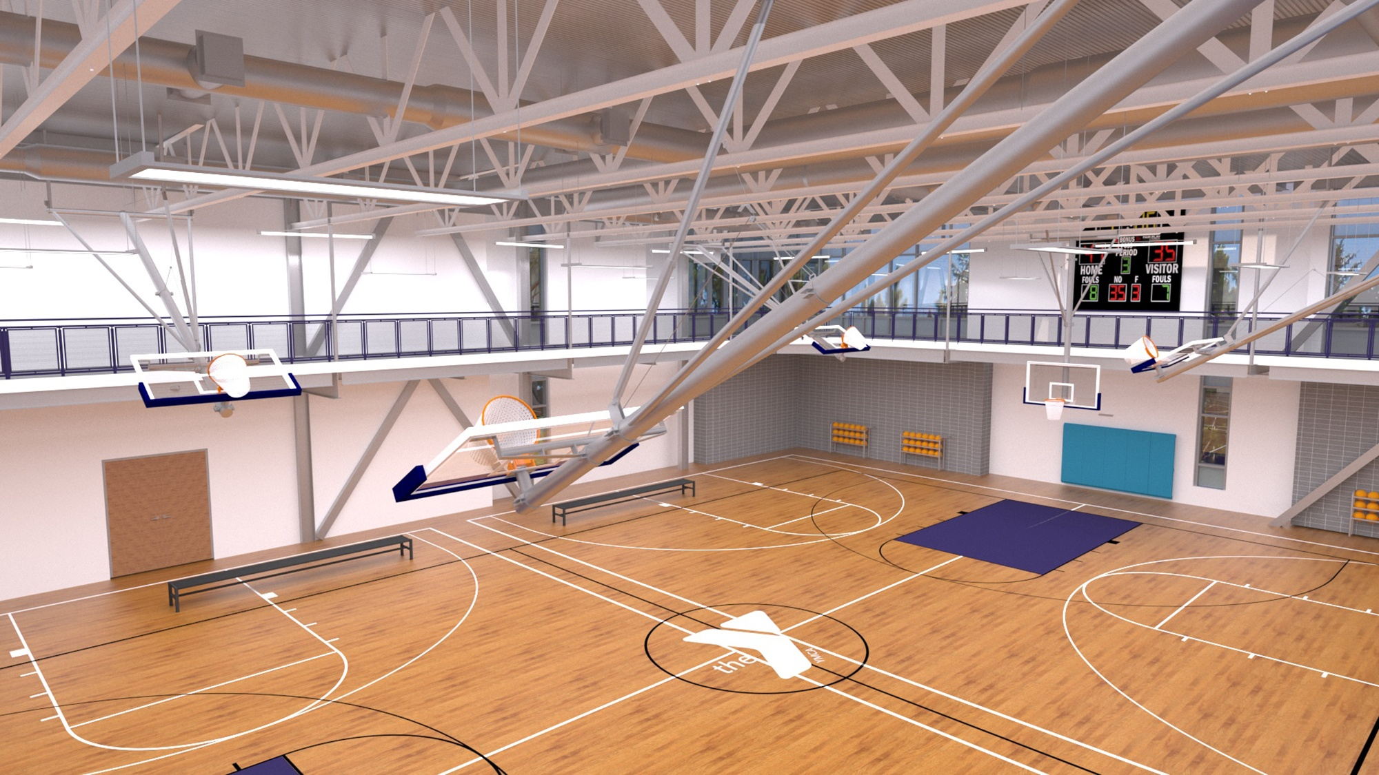 Lynn YMCA Gymnasium Design