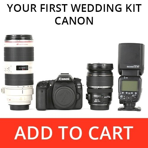 5 wedding photography kits for every photographer