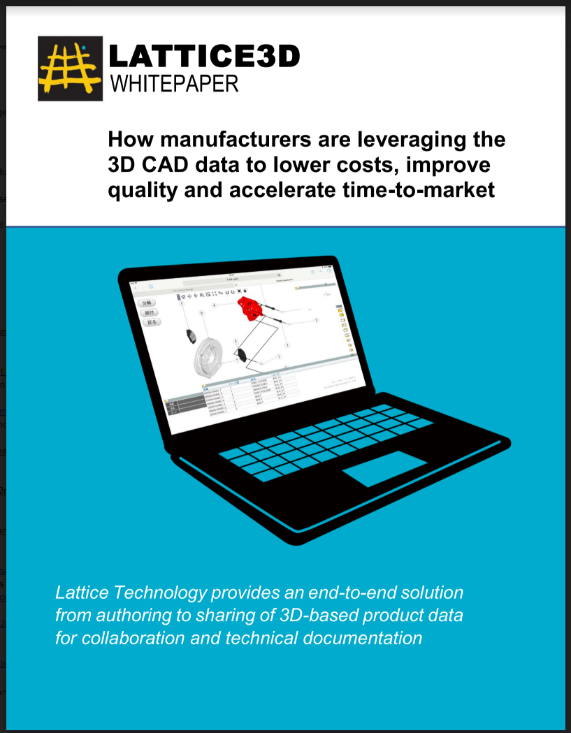 XVL Whitepaper for Improving Manufacturing Productivity