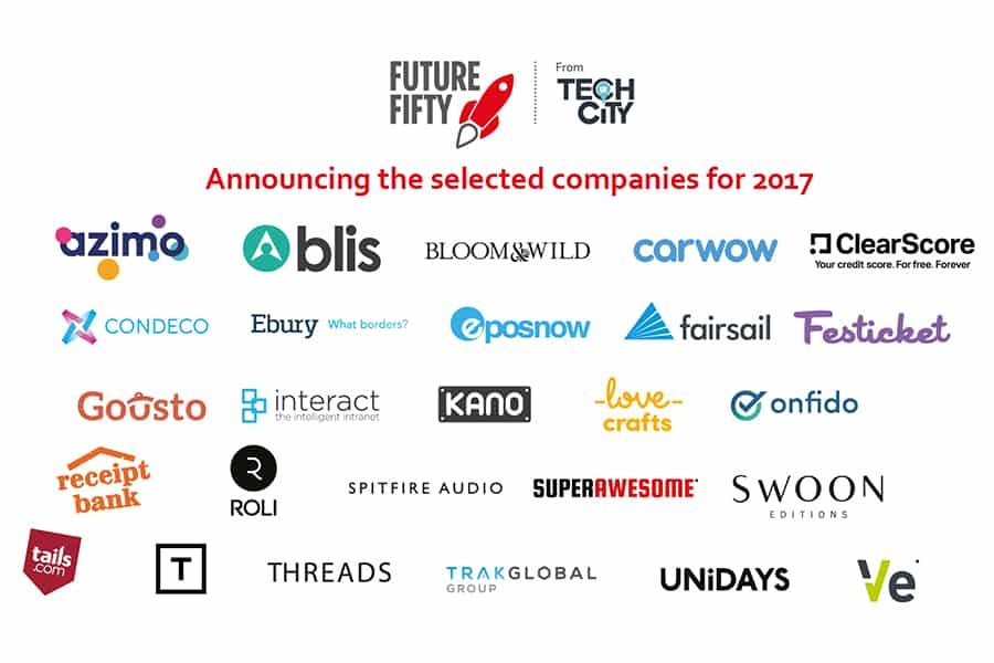 Receipt Bank joins the Future Fifty programme from Tech City UK