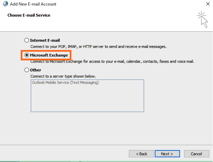 How to Configure Office 365 Accounts in Exchange using