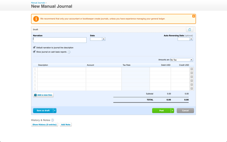 xero 101 3 things your xero journal entries are missing