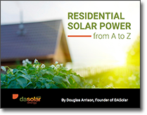New Free Ebook on Residential Solar Power
