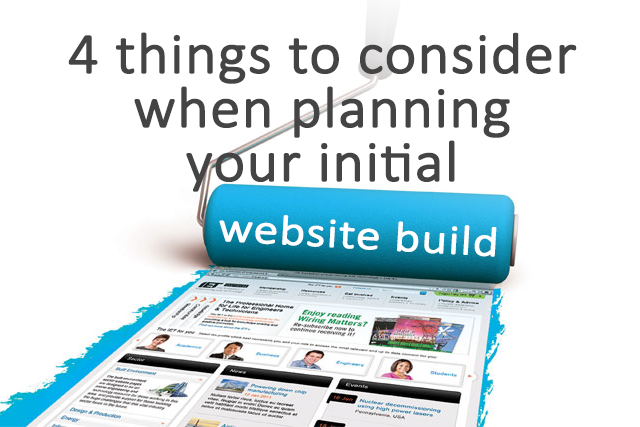 Blog Image From 4 Things to consider when planning your initial website build
