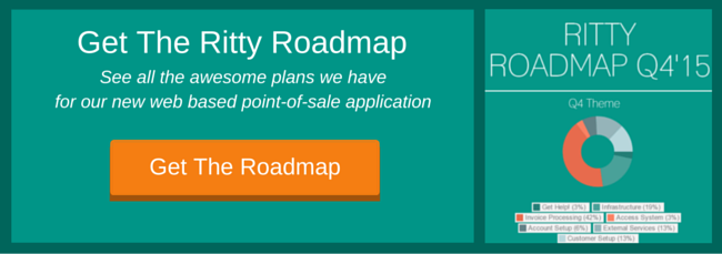 Get the Ritty roadmap - web-based point-of-sale for automotive