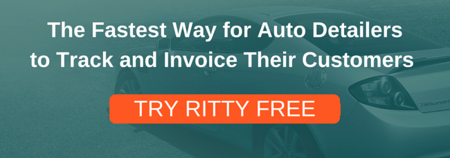 Ritty Auto Detailing Software