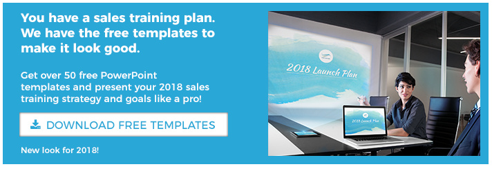 Training Plan Slide Templates for Sales Trainers