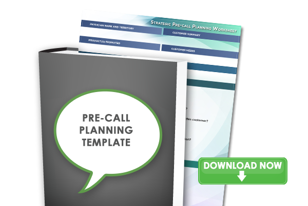 Pre-Call Planning Worksheet