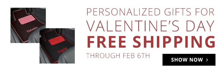 Free Shipping Valentines Day Car Mats & Accessories