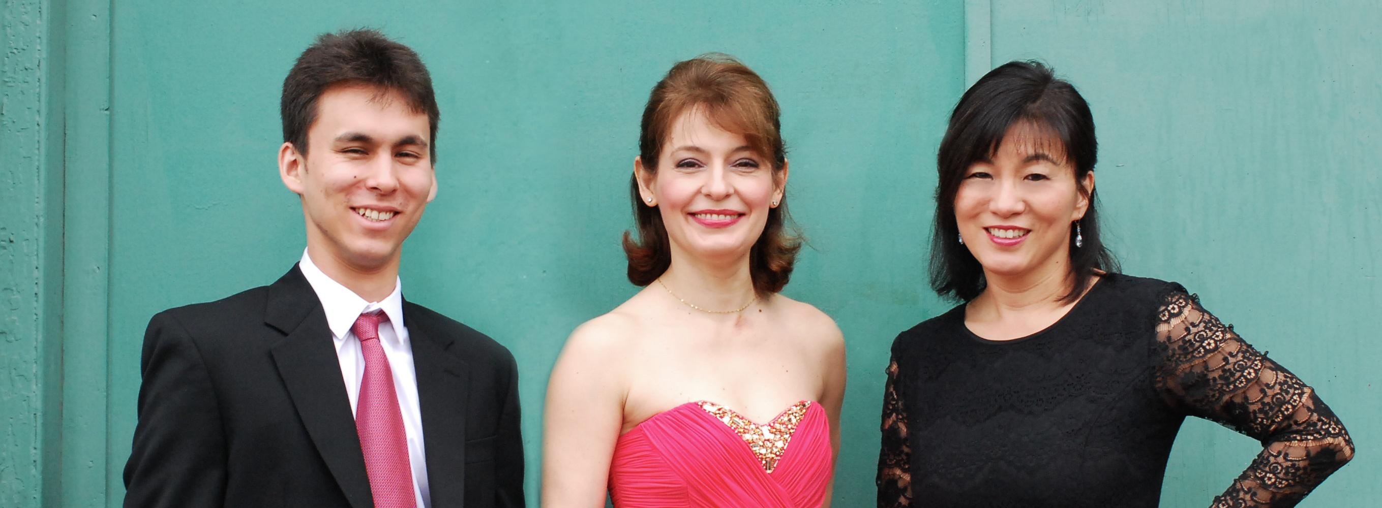 The trio.  Via Boston Philharmonic Orchestra.