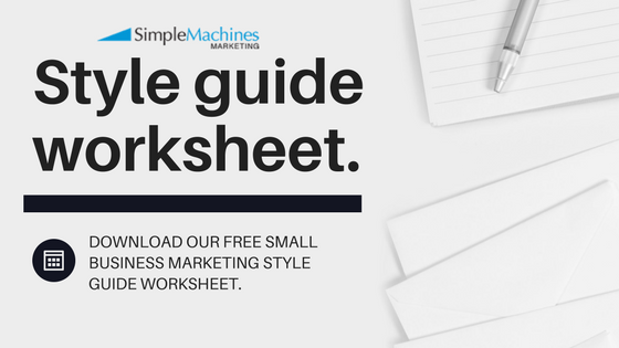 Free Download: Style Guide Worksheet for Small Businesses