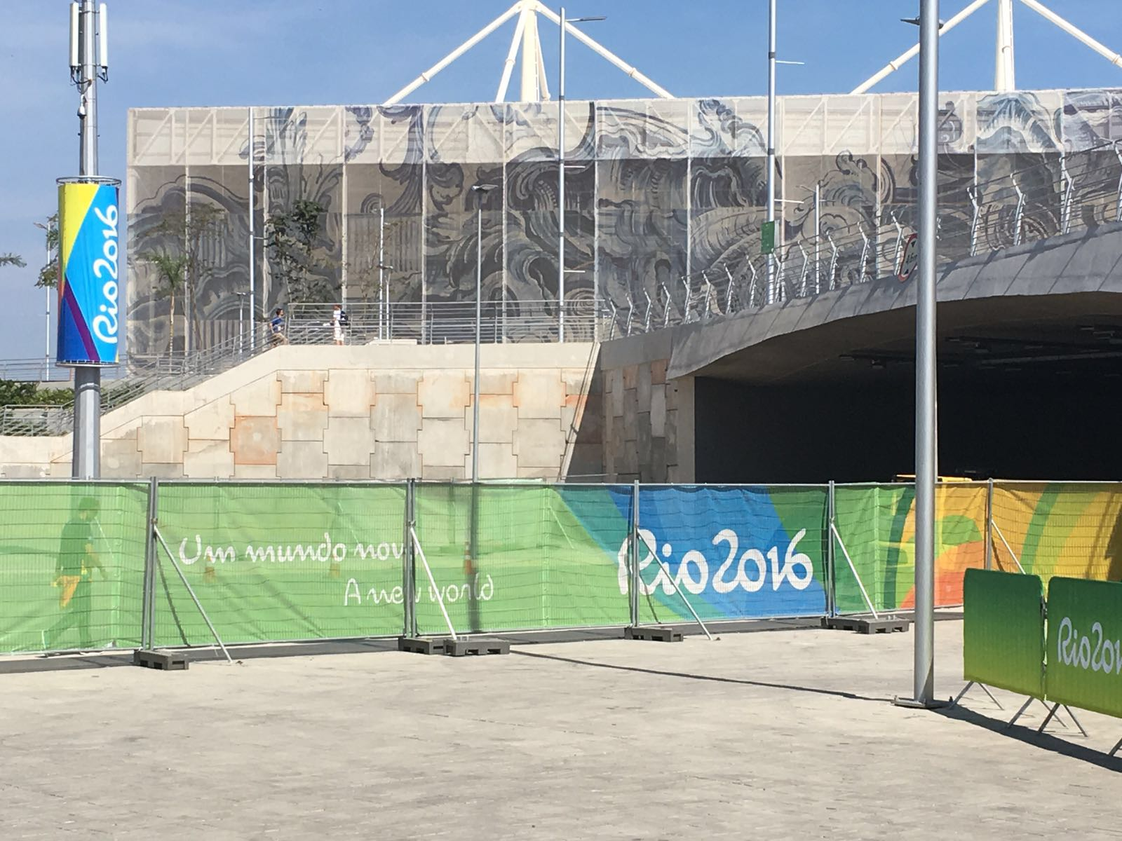 Heras Rio met doeken (3)