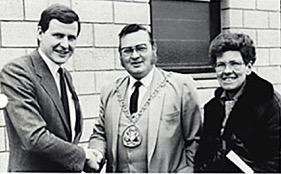 Heras opening Sittingbourne 1987