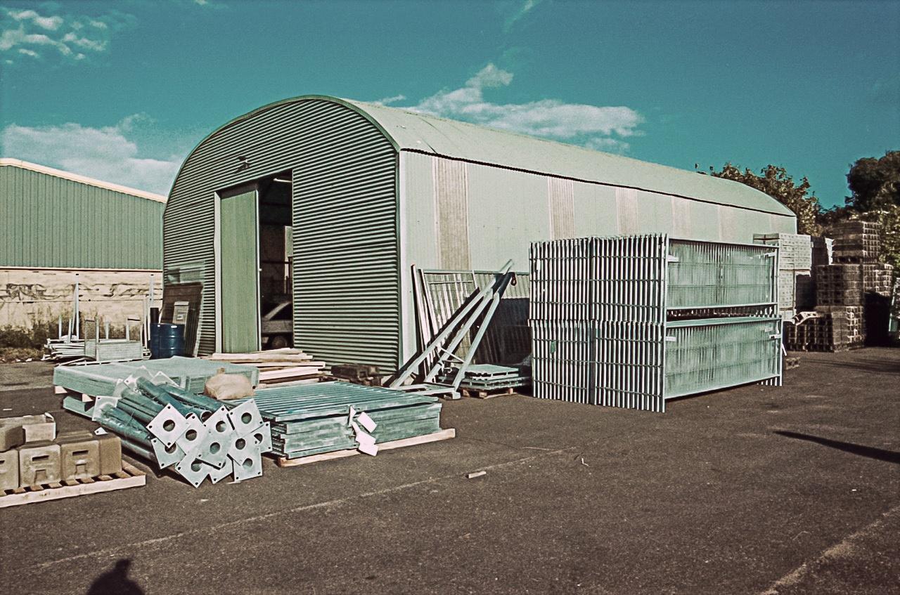 Heras stock location Sittingbourne history