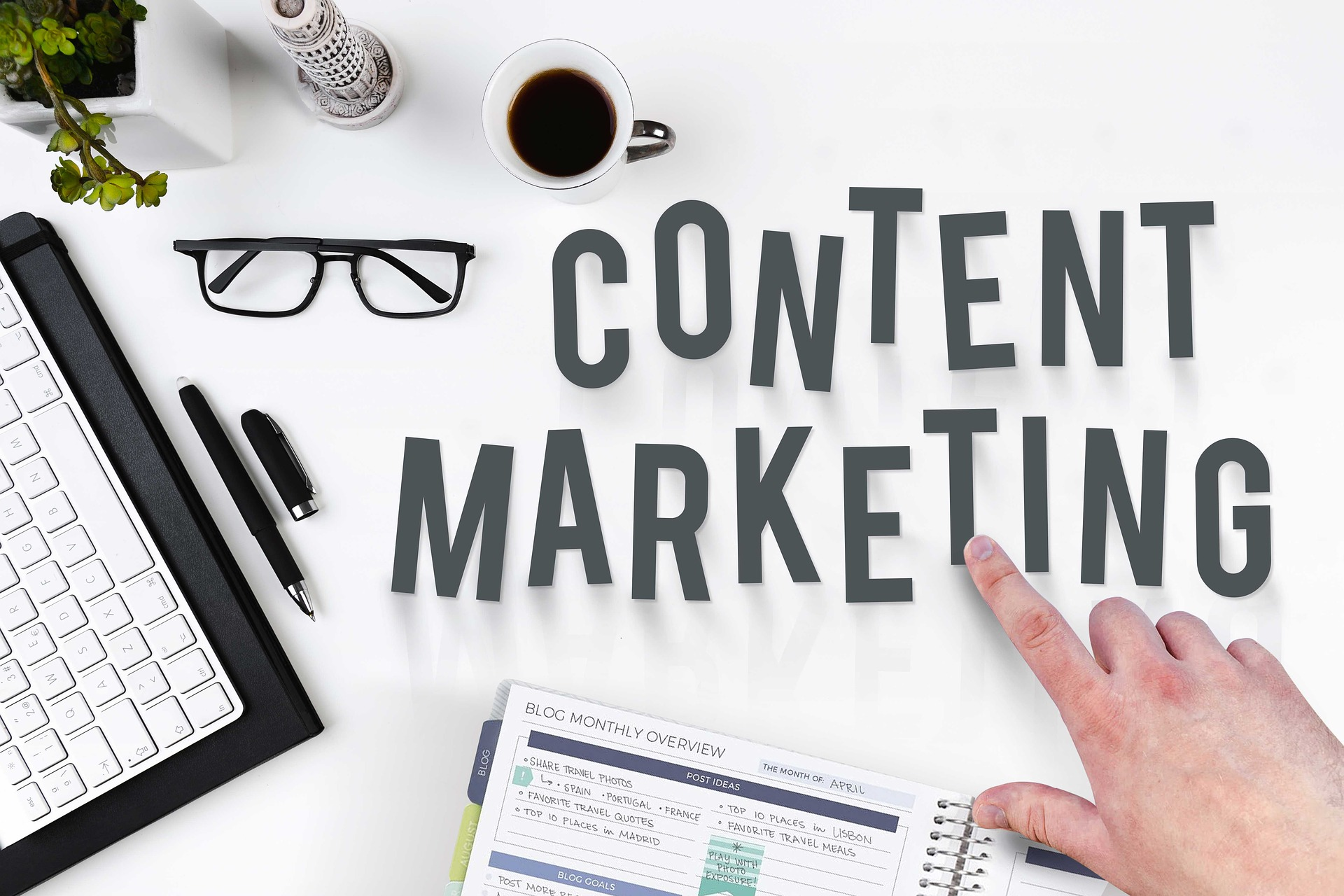 Different Types of Content for Content Marketing