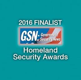 GSN 2016 Homeland Security Awards - Finalist