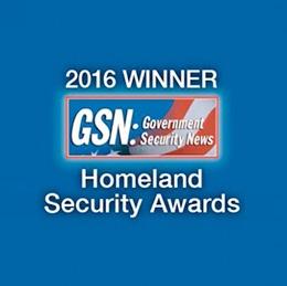 GSN 2016 Homeland Security Awards - Winner