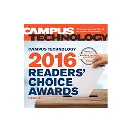 2016 Campus Technology Readers' Choice Gold Award