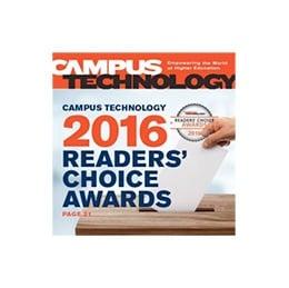 2016 Campus Technology Readers' Choice Gold Award