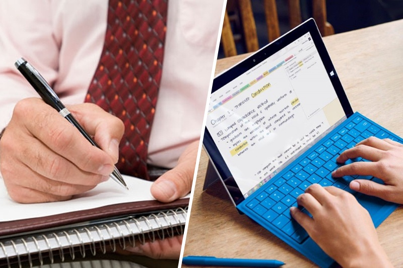 Writing vs. Typing Notes: The Better Approach to Studying for the Bar