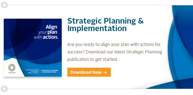 Services For Strategic Planning In Higher Education